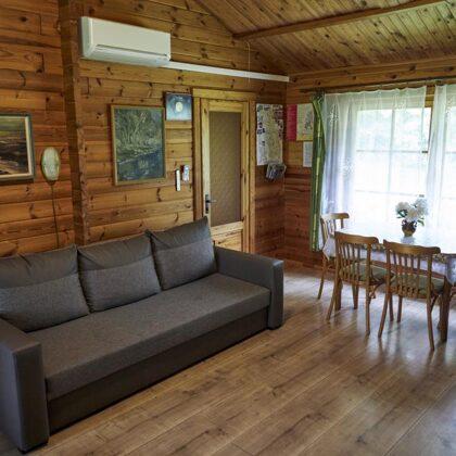 Brīvdienu māja-dzīvojamā istaba